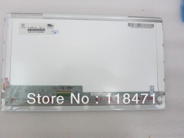 Panneau LCD 14 pouces N140B6-L02 N140B6 L02 1366 RGB * 768VGA Original A + GradePanneau LCD 14 pouces N140B6-L02 N140B6 L02 1366 RGB * 768VGA Original A + Grade