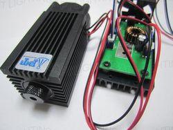 REAL 2000 mW/2 W 445nm 450nm foco azul módulo láser diodo de alta potencia máquina de grabado láser TT L DIY CNC ajuste