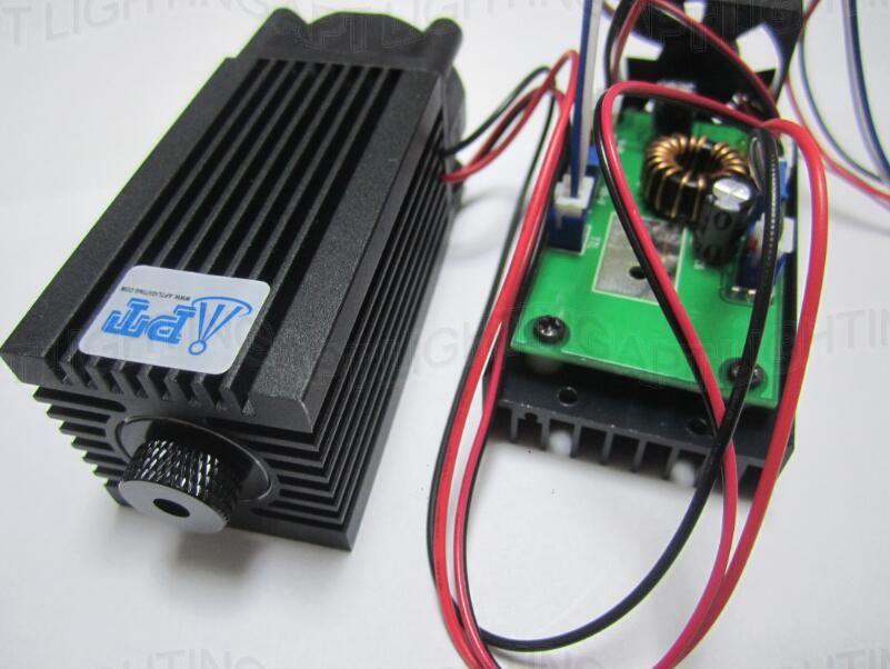 REALE 2000 mw/2 w 445nm 450nm Focusable Laser blu Modulo diodo laser Ad Alta Potenza di taglio Macchina Per Incidere TT L FAI DA TE CNC Regolare