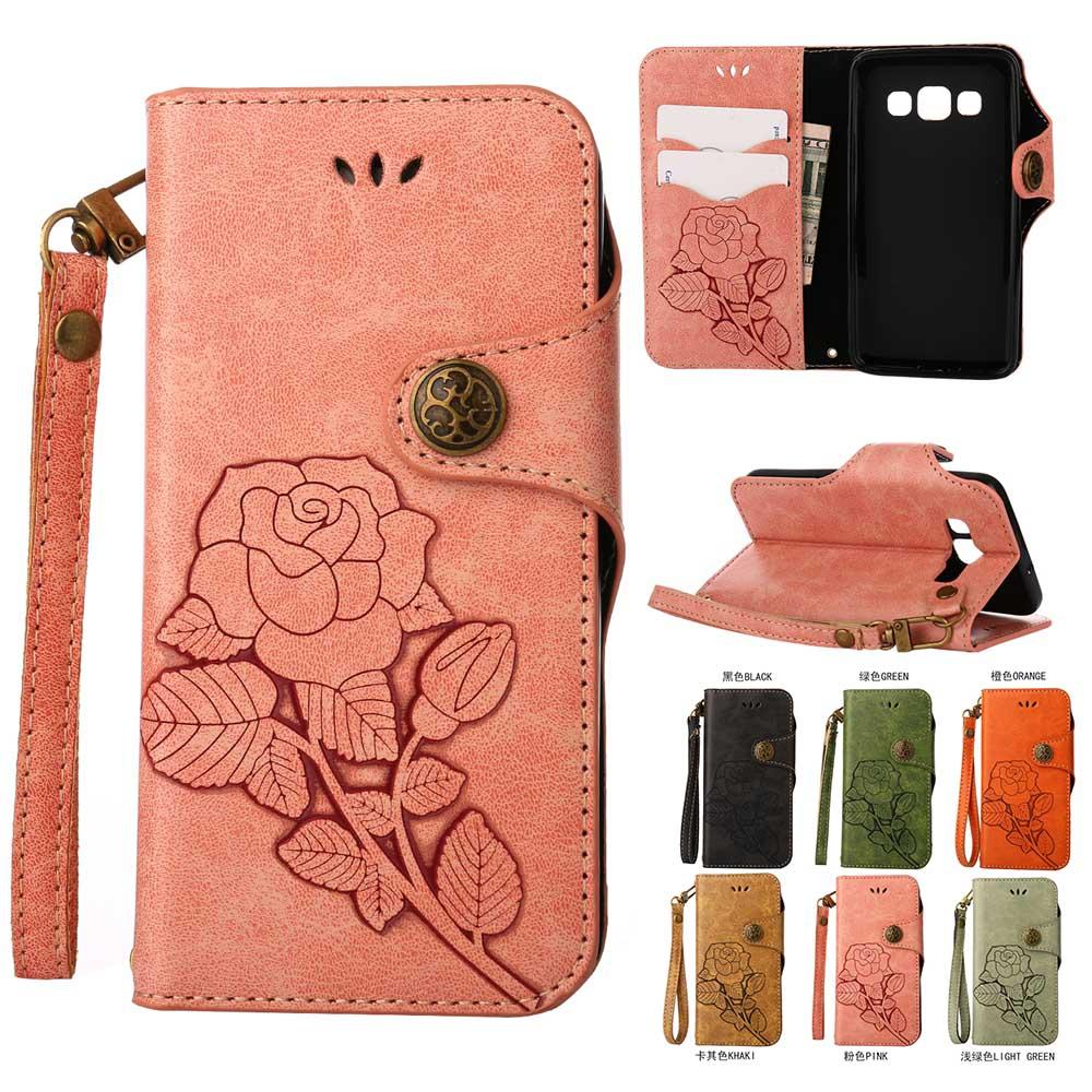 Galleria fotografica Luxury Flip Leather Case for Samsung Galaxy A3 A5 2016 Case For Samsung Galaxy A3 2015 Wallet Coque Silicone Back Cover Etui
