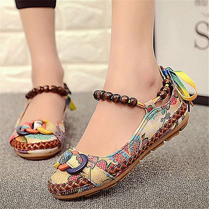 Image 2 - Hemp Flats Shoes Women Loafers Summer Slip On Ladies Ballet Fats Casual Women Espadrilles Vintage Ballerina Shoes Zapatos Mujer