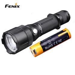 Fenix FD41 900 lumenów XP L HI LED 360 stopni obrotowy koncentrując się latarka taktyczna z reflektor i reflektor w Latarki LED od Lampy i oświetlenie na