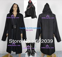 Star Wars Darth Maul Cosplay Costume Cotton Linen Made Include Gloves