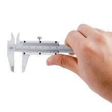 Cheap price 0-100mm Mini Vernier Caliper 4″ Carbon Steel Calipers Gauge Micrometer Measuring Tools