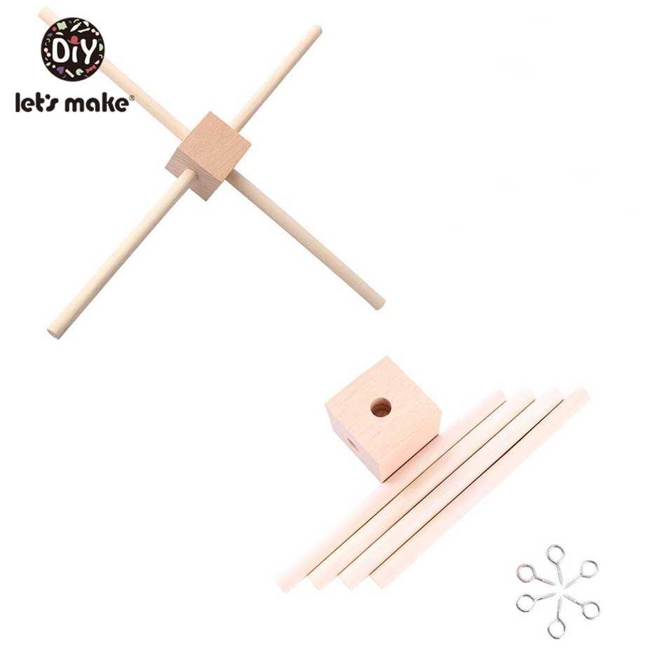 Let'S Make Детская домашняя спальня Play спортивный инвентарь радио-няня подвесное постельное белье детская погремушка деревянный Прорезыватель игрушки Аксессуары для коляски