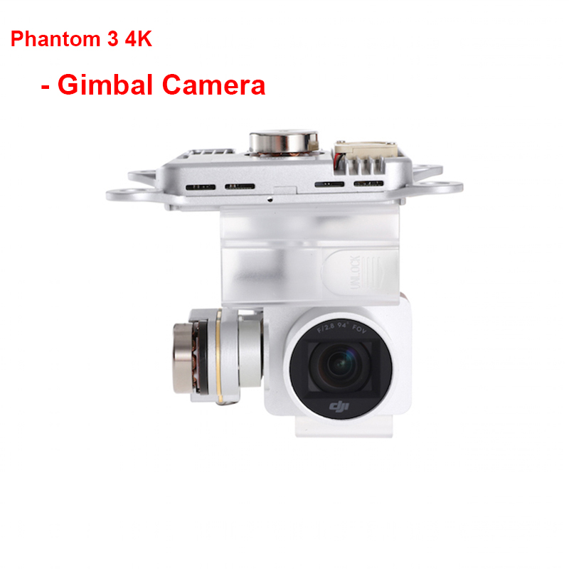 Original DJI Phantom 3 4K – Gimbal Camera For DJI Phantom 3 4K Replace Accessories
