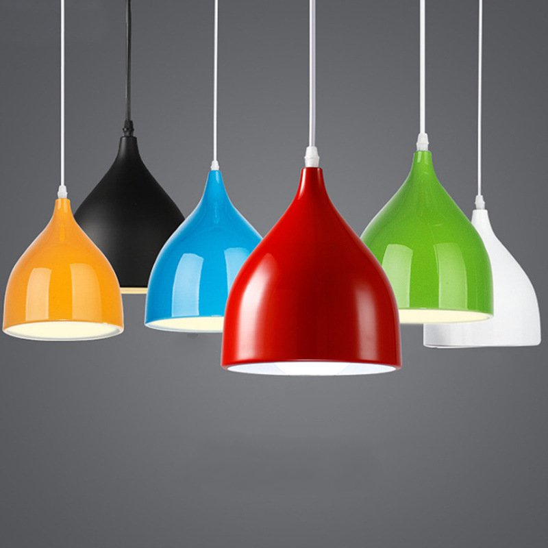 Nordic modern simplicity Pendant Lamp creative 3 colors iron E27 Pendant Light For Restaurant Coffee Shop Foyer loft nordic modern pendant lamps restaurant coffee shop creative iron english combination light