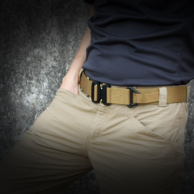 "IDOGEAR Tactical Belt Riggers Belt Quick Release 1.75/"" Military Airsoft Wargame"
