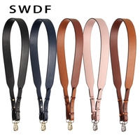 SWDF 2018 4cm Wide Long bag Strap for Handbags Women replacement straps Single shoulder belt accessories parts Genuine Leather