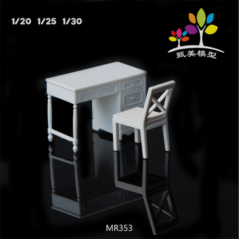 School & Educational Supplies Apprehensive 1 Set/lot Scale Plastic Miniature Model Desk Chair For Building Trains Railroad Layout Scenery Accessories Mr353 Factory Direct Selling Price Stationery Set