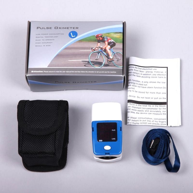 ФОТО Digital Finger Pulse Oximeter WITH CE Blood Oxygen a Finger SPO2 PR Oximetro de dedo Portable Oximeter Health Care AH-50L