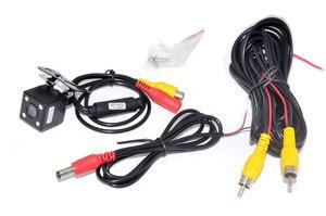 Image 4 - 車ccdビデオオートパーキングモニター、ledナイト逆転ccd車のリアビューカメラと 4.3 インチ車のバックミラーモニター