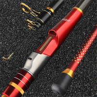 New 3.6 4.2 meters ultra hard carbon fishing rod distance throwing rod surf sea anchor fishing rod