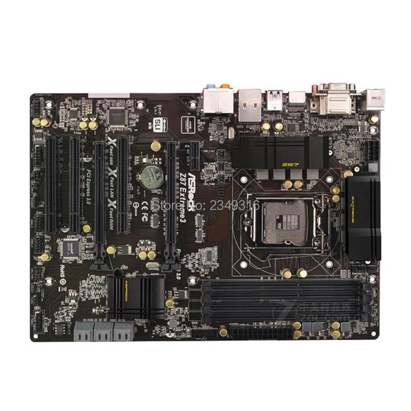 ASRock Z87 Extreme4 Motherboard Socket 1150 DDR3 Intel Z87 100/% working
