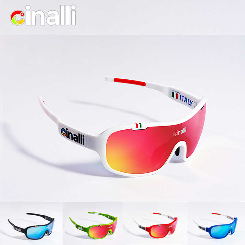 294d4bf910 CINALLI C-068 Sunglasses Cycling Racing Outdoor Sport glasses TR90 Frame  Eyewear w  Black