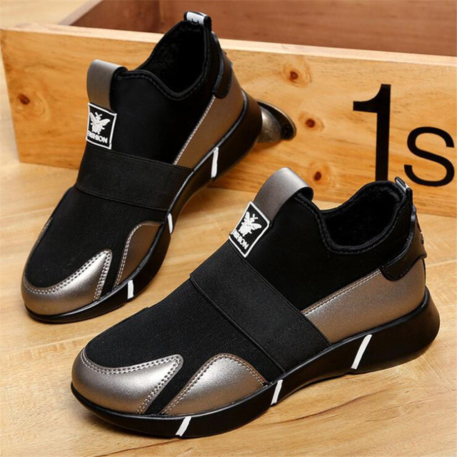 Women's sneakers shoes 2019 spring and autumn new elastic sets of feet casual shoes thick bottom breathable mesh women's shoes