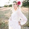 2016 adereços fotografia de maternidade algodão maternidade roupas lace vestidos moda roupas grávidas rendas de croché maternidade dress