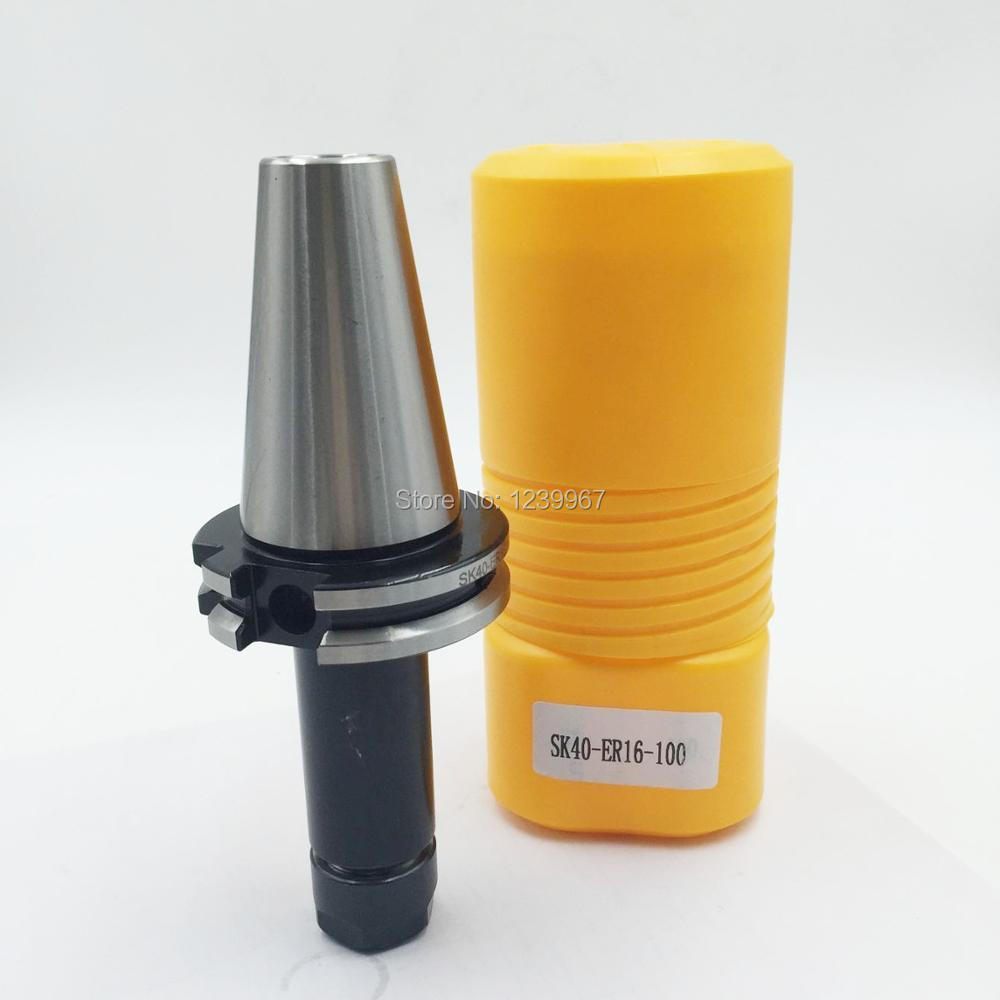 CNC Tool Holder SK40 ER16 Collet Chuck Toolholder 30000rpm CNC Machining Center New