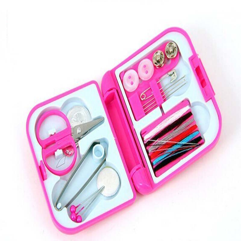 Creative home life essential mini portable sewing sewing kit sewing box(China)