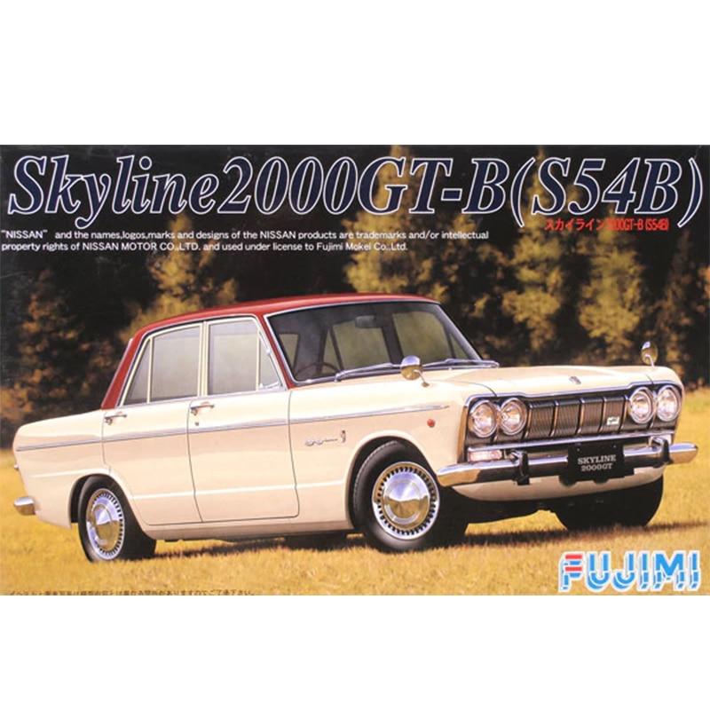 1/24 Nissan Skyline 2000GTR (54B) 04326 Montaj Modeli1/24 Nissan Skyline 2000GTR (54B) 04326 Montaj Modeli