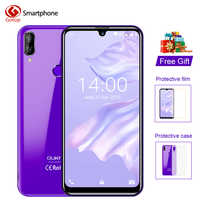 OUKITEL C16 Pro 5.71'' Android 9.0 19:9 Waterdrop Screen CellPhone MT6761P Quad 3GB RAM 32GB ROM Smartphone 4G LTE Mobile Phone
