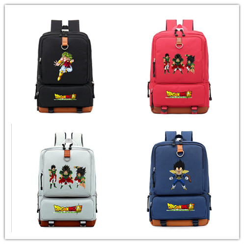 Schoolbag Backpack Dragon-Ball Shoulder Travel 4-Colours Mochila-Bags Teenagers Girls