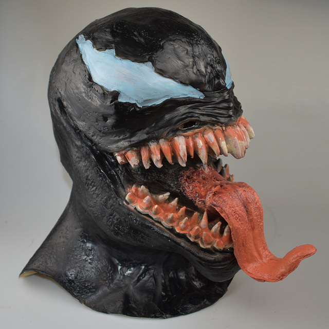 Venom Mask Spider Man Comic Inspired Cosplay One Size For Adult 2