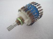 1 pces montado dale 23 atenuador de passo 2 chl potenciômetro de volume 50k