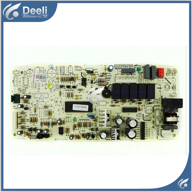 95% new good working for Gree air conditioning motherboard board computer board 6051L 30036033 GRJ60-A circuit board 95% new for haier refrigerator computer board circuit board bcd 198k 0064000619 driver board good working