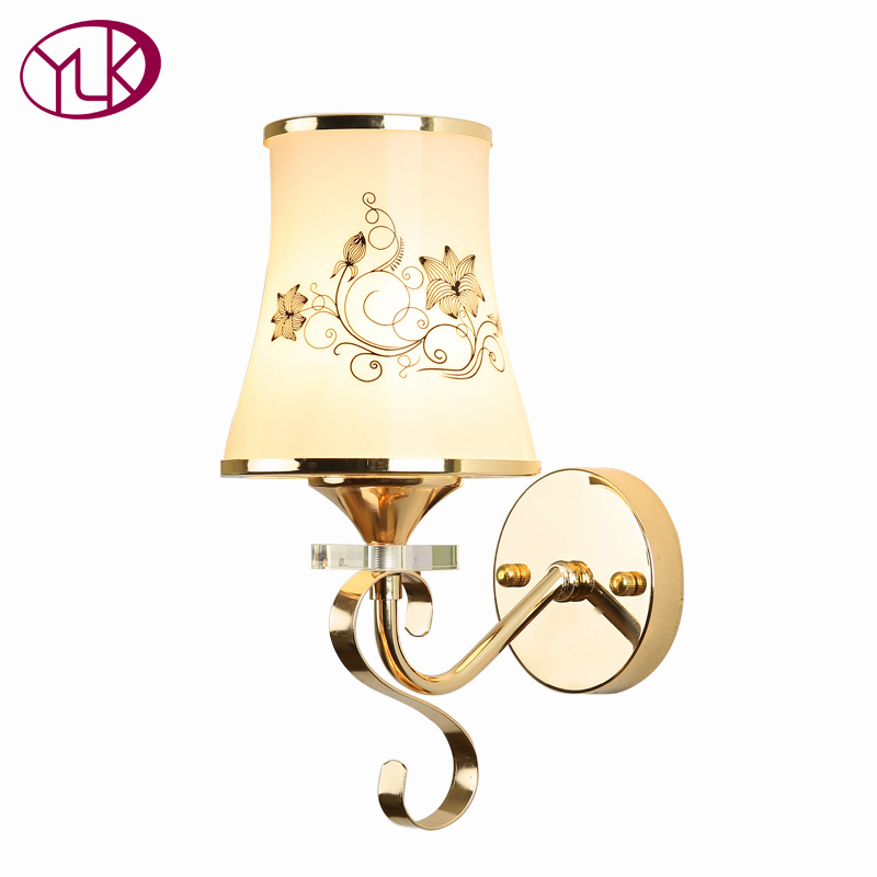 Youlaike Modern Sconce Wall Lights AC110V 220V E27 LED Wall Lamp Modern Wall Light Wall Mounted