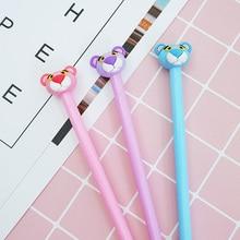 3 pcs/lot Cartoon tiger Gel Pen kawaii stationery School Supplies Office Cute writting pens paperlaria