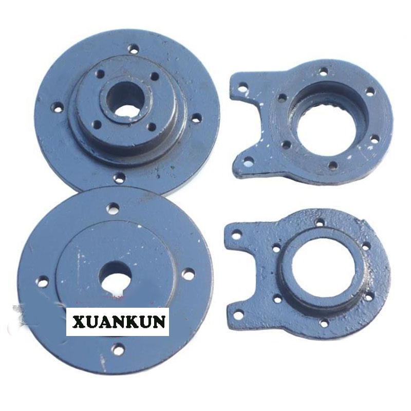 XUANKUN  Beach Car Hub Seat Differential Rear Axle Fixed Seat Beach Car Modified Parts Disc Brake Flange Seat billet rear hub carriers for losi 5ive t