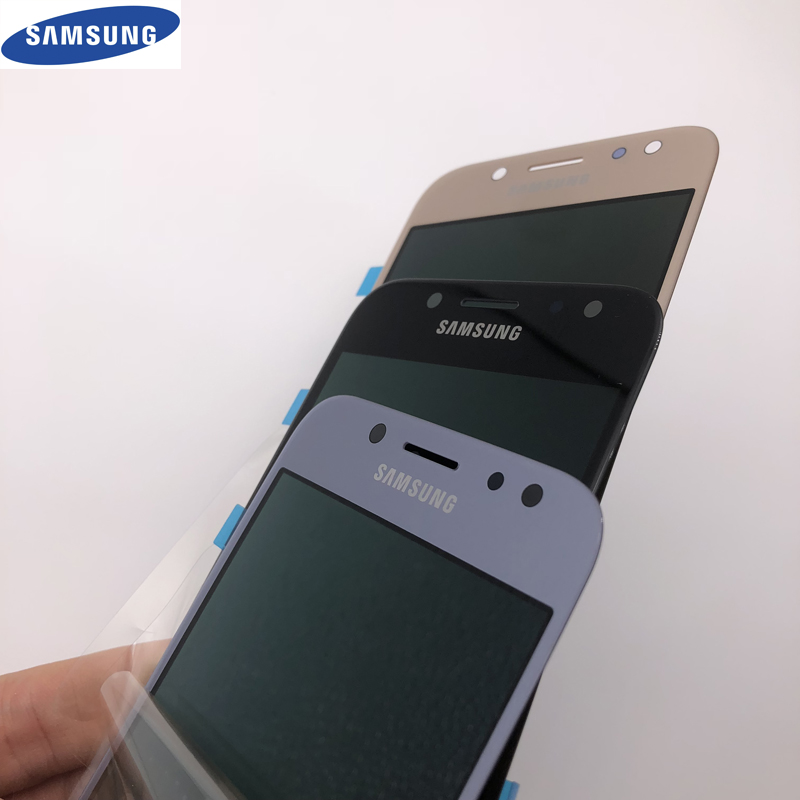 LCD Ersatz SUPER AMOLED für SAMSUNG Galaxy J5 2017 J530 J530FD J530F Display Touchscreen Digitizer Montage