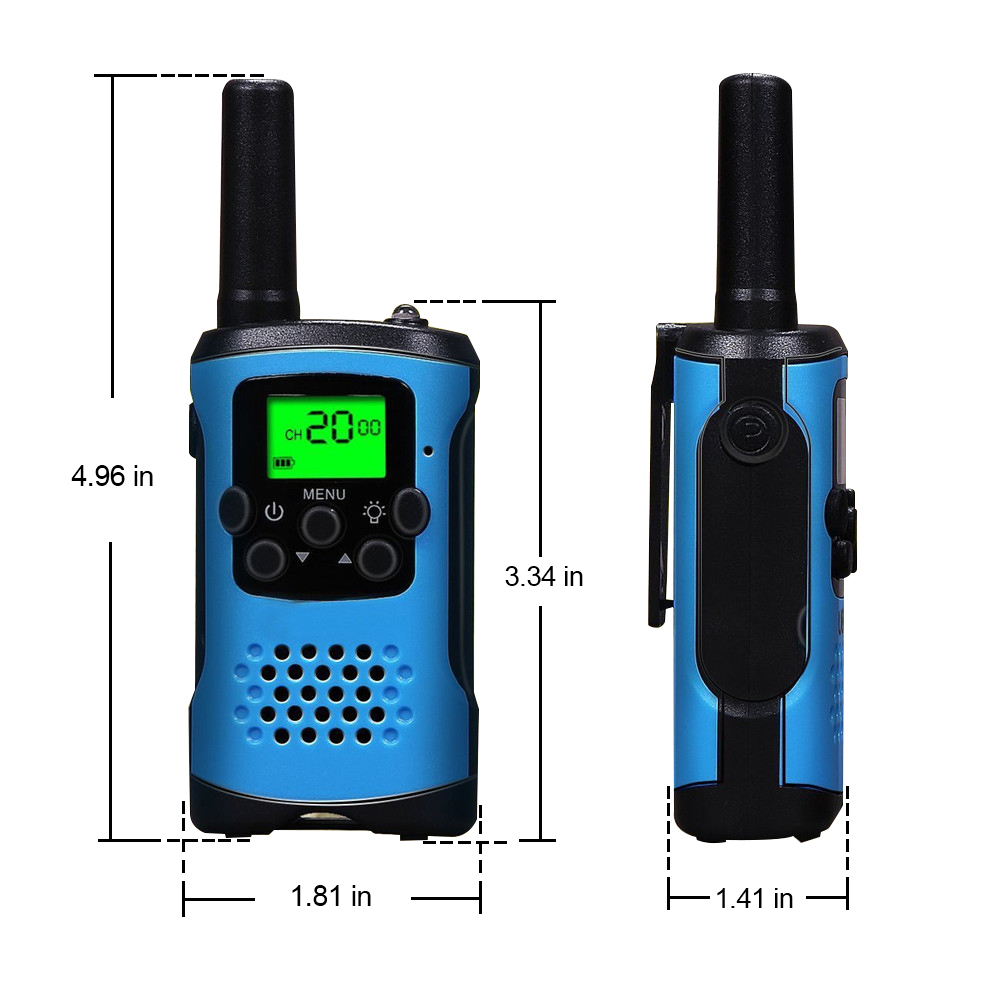 LCD Kids FRS/GMRS for