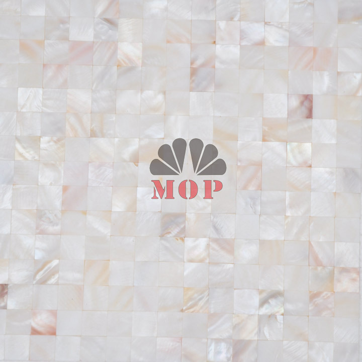 2013 Freshwater Shell Mosaics Tiles Seamless Join Natural White Color Docorative Mosaic Wall Tile Hot Sale