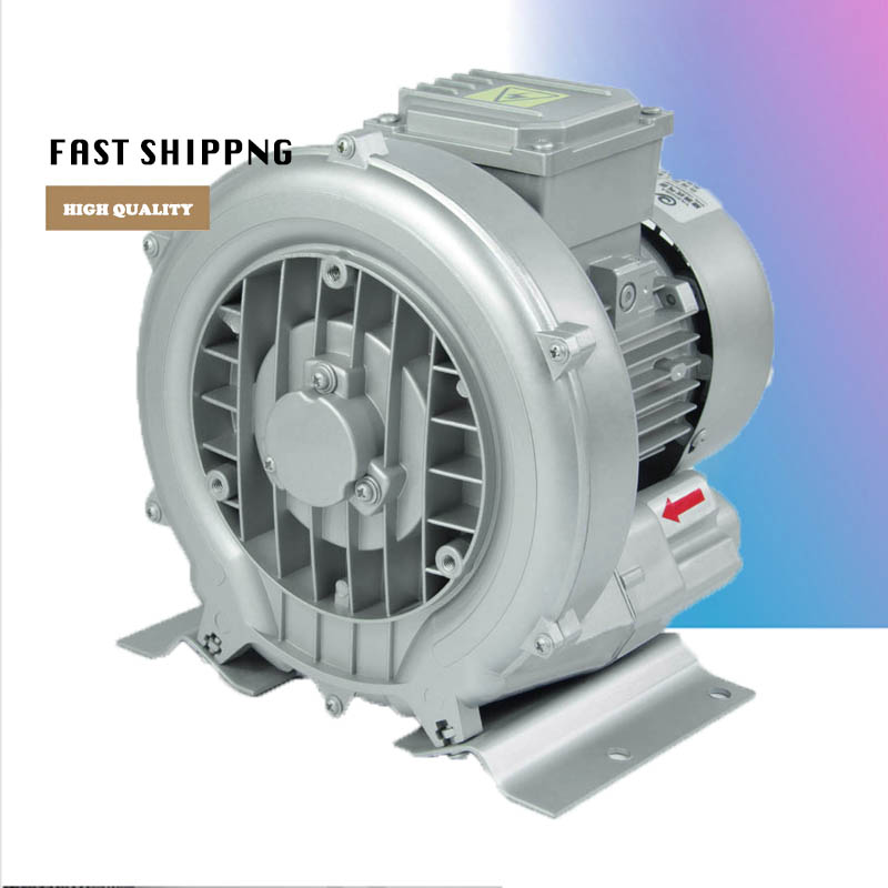 цена на 50% off 220v 50hz Ring Blower HG-120 Air Pump CNC Router Vacuum Pump Vortex Pump