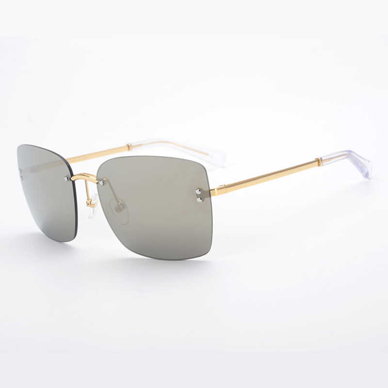 no Legierung Mit Designer no 2019 Brillen 3 Frauen Sol Luxus Sonnenbrille Oculos 4 no No Verpackung 1 2 Rahmen no 5 Randlose Box Feminino De Marke Mode qnn10W6
