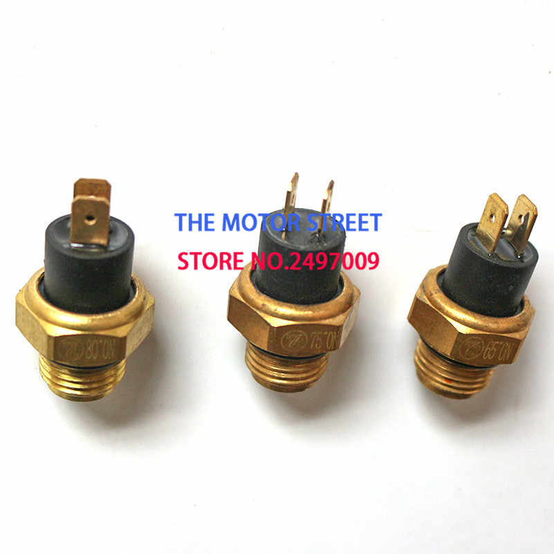 free shipping M16 Radiator Thermal Fan Switch Thermostat For 250cc Water Cooled ATV Quad Scooter Motorcycle Parts