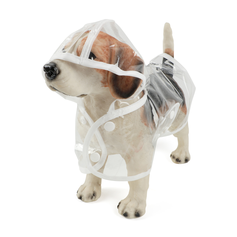 puppy raincoat with hood