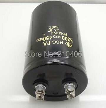 450V3300UF 65x105mm capacitor
