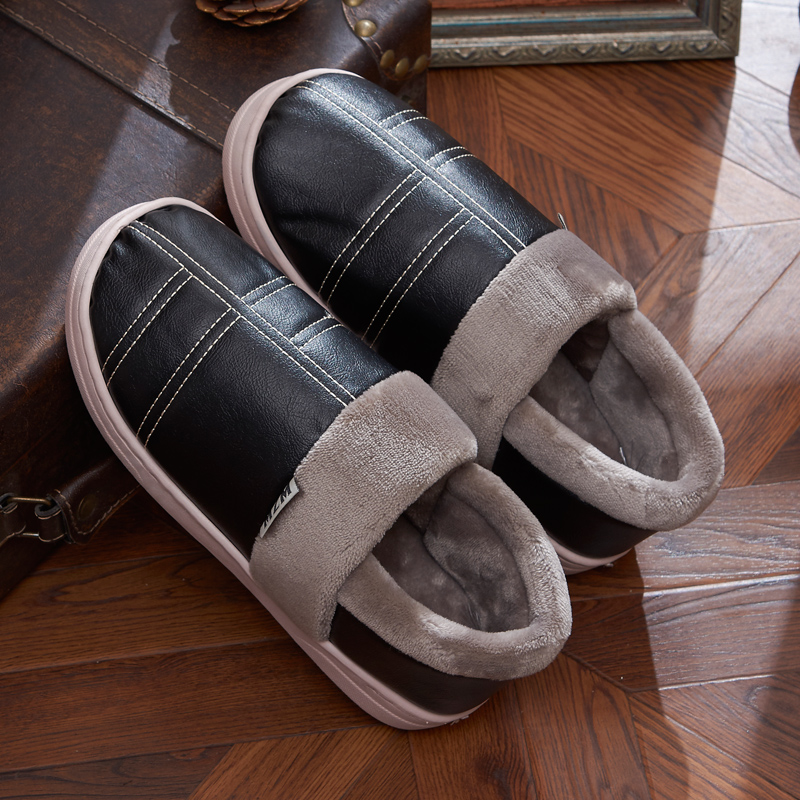2016 New Arrival Fashion Winter Warm Home Slippers font b Women b font and Men Cotton