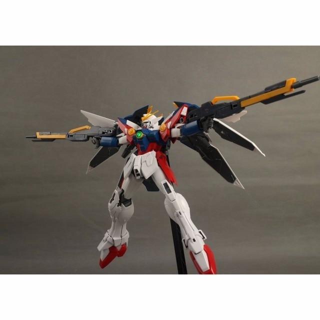 Anime Daban MG 1/100 Wing Gundam Zero EW Action Figure Endless Waltz XXXG-00W0 Puzzle assembled model 18cm Robot kids Puzzle toy 1