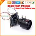 Vari-Focal 2.5MP Lens 2.8mm-12mm 3X Zoom Mini IP Camera 1.0/1.3 Megapixel 720P/960P Camera IP Surveillance CCTV ONVIF P2P