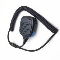 new 2PIN blue MT600 microphone for kenwood TK3207 TK3307 TK3207G TK3107 baofeng UV5R BF888S BF666S two way radios