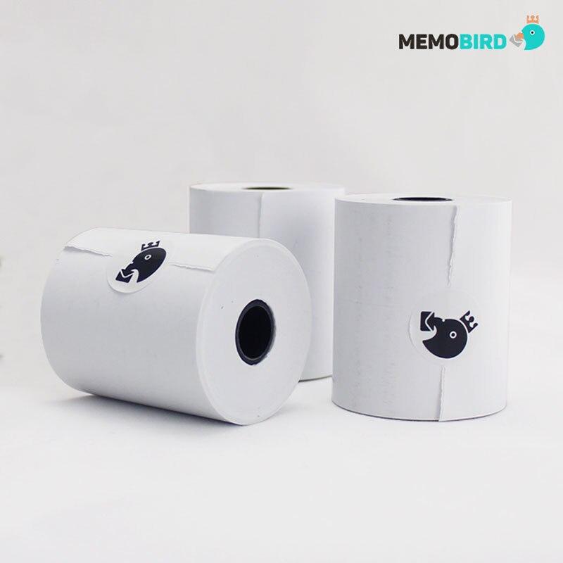 MEMOBIRD photo printer thermal printer Paper 57 * 50mm printing paper NOT Included bisphenol A