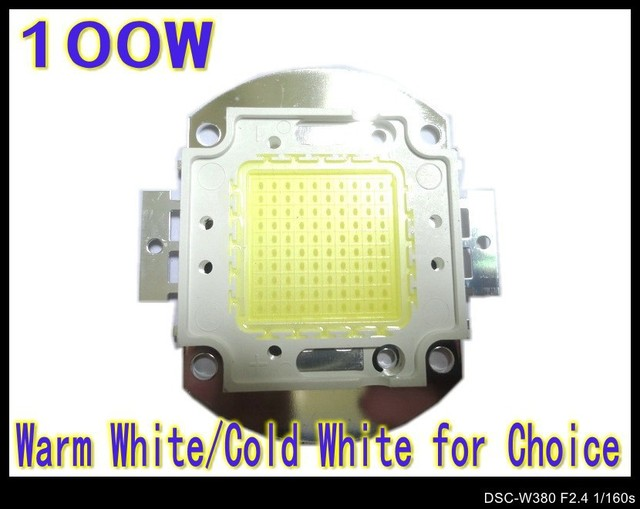 100W LED chip Cold White Warm white 8000-9000LM LED Bulb IC SMD Lamp Light White High Power