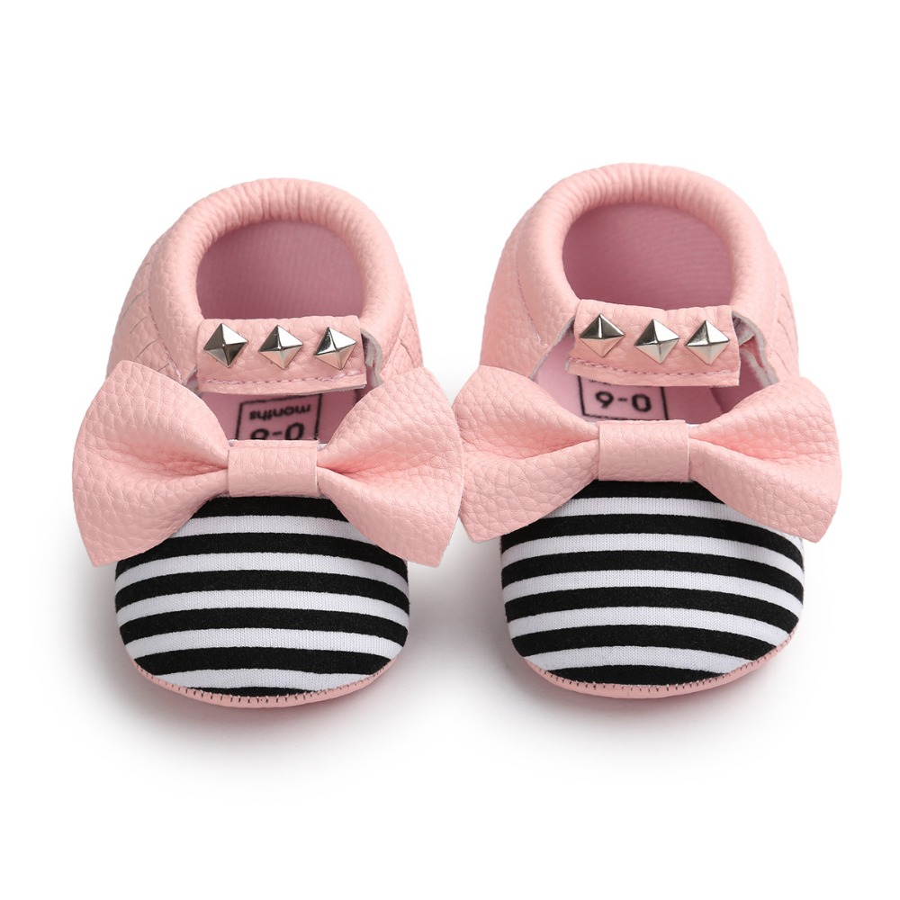 New-pu-Leather-Baby-Moccasins-Rivet-striped-Mary-janes-Baby-girls-princess-dress-Shoes-Newborn-first-walker-Infant-baby-Shoes-3