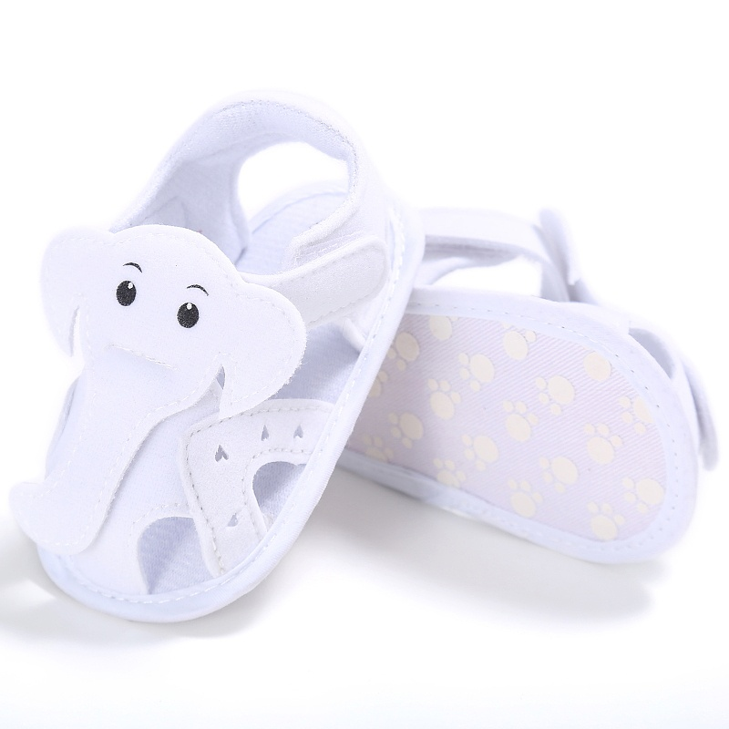 High Quality Elephant Pattern Baby Girls Boys Shoes Moccasins First Walker Soft Bottom Hollow Out Shoes Baby Prewalkers Shoes