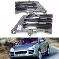 2 Pcs/Pair Front side grilles radiator grill insert RH and LH for Porsche Cayenne 2008-2010
