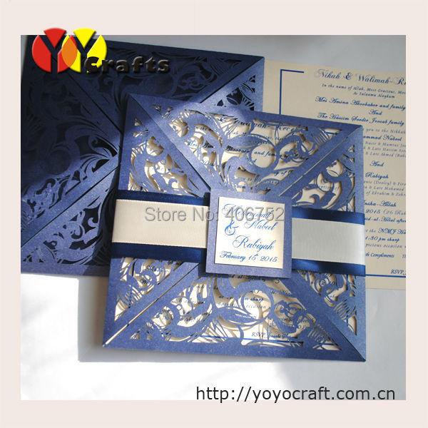 Online get cheap glitter wedding invitations aliexpress for Inexpensive glitter wedding invitations